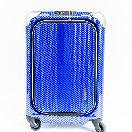 "Enkloze X1 Carbon Carry On // 21"" // Blue"