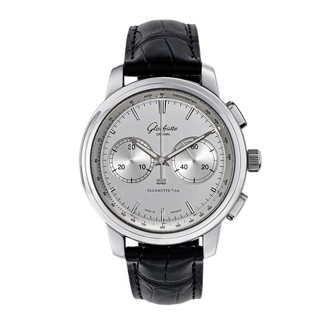 Glashutte Senator Chronograph XL Automatic // 39-34-21-42-04 // New
