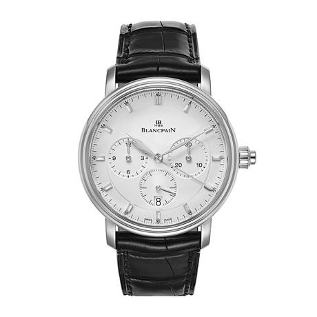 Blancpain Villeret Single Pusher Chronograph Automatic // 6185-1127-55B // New
