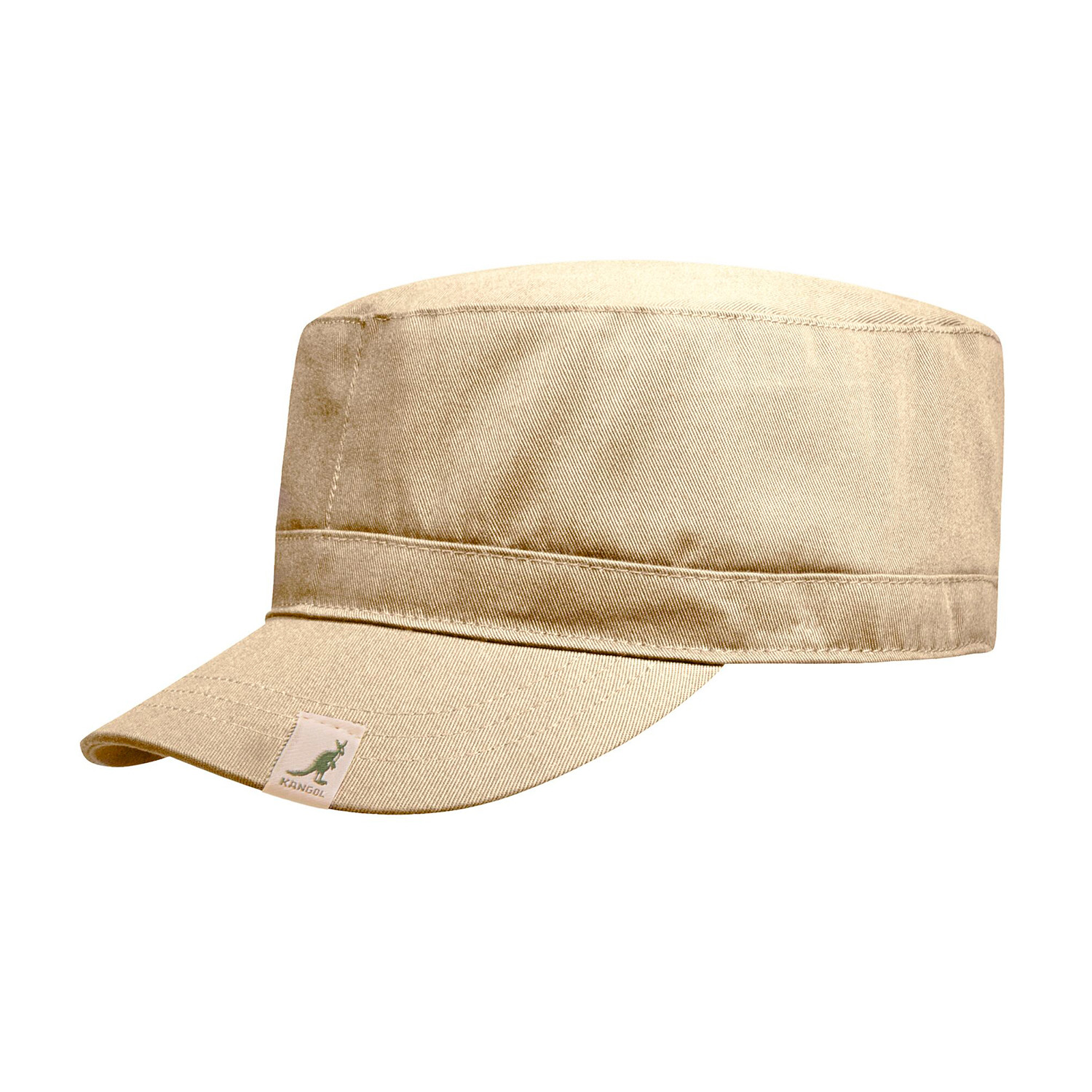 07a82dcc Cotton Adjustable Army Cap // Beige (Small/Medium) - Kangol® - Touch ...