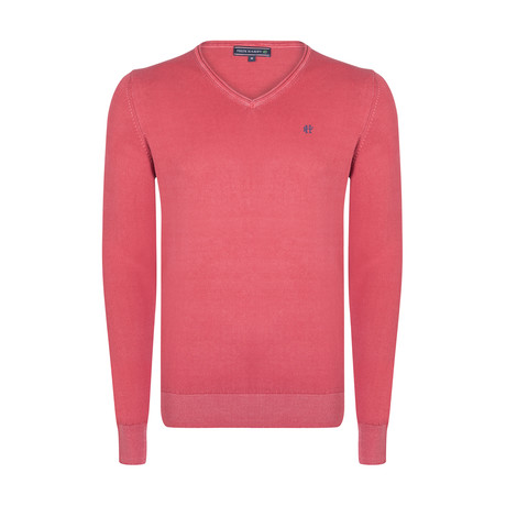 Austin Spring Pullover // Red (XS)