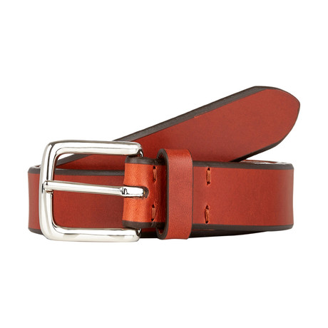 "Edge Belt // Cognac (Size 32"")"