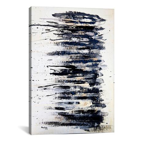 "Shading in Black #2 // Shawn Jacobs (18""W x 26""H x 0.75""D)"