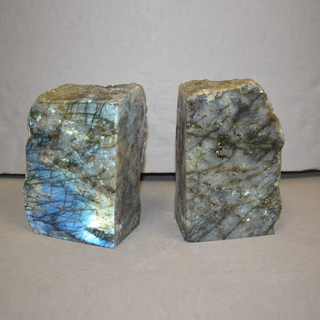 Labradorite Bookends