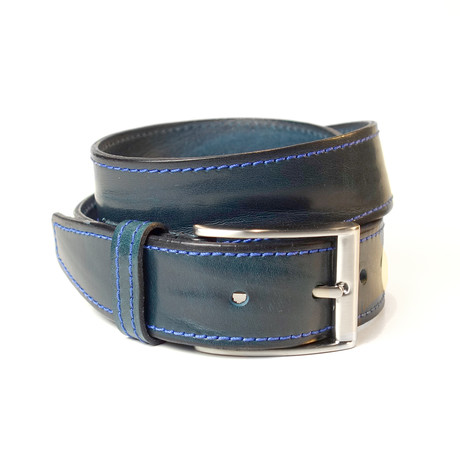 "Stress Stitch Belt // Blue (Size 30"")"