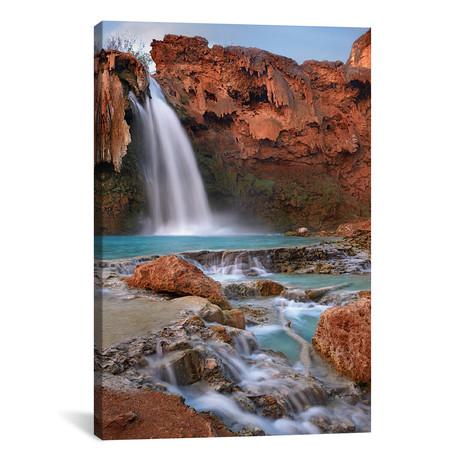 "Havasu Falls, Grand Canyon, Arizona III // Tim Fitzharris (18""W x 26""H x 0.75""D)"