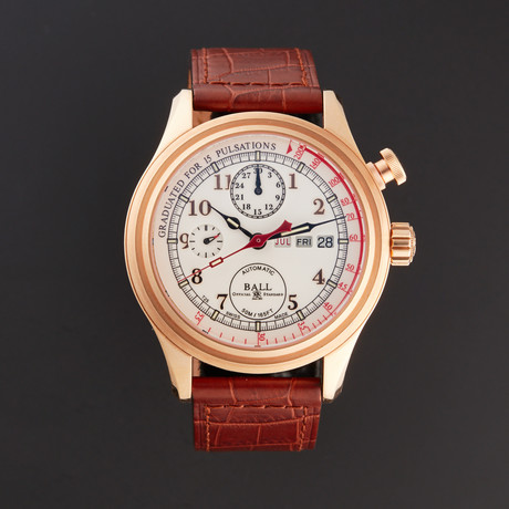 Ball Chronograph Automatic // CM1032D-PGL1JWH // Store Display