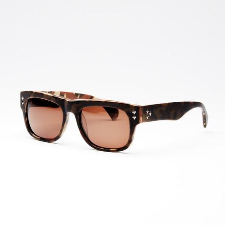 Women's Heartbreaker Sunglasses // Brown Camo