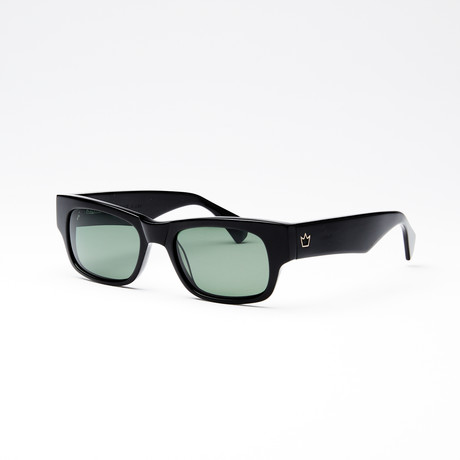 Unisex Driver II Polarized Sunglasses // Black