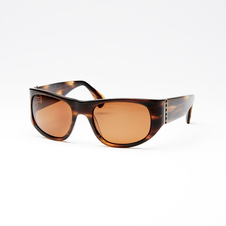 Unisex Midnight Polarized Sunglasses // Brown Horn