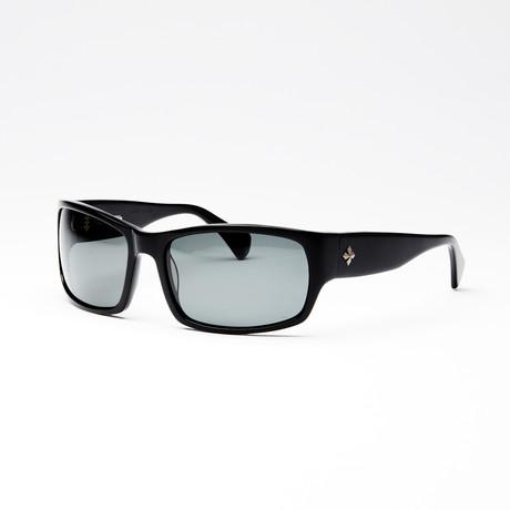 Unisex Spectre II Polarized Sunglasses // Black