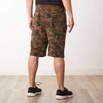 Camo Sweatshorts // Woodland (2XL)
