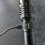 LitezAll Rechargeable Tactical Flashlight // 1000 Lumen