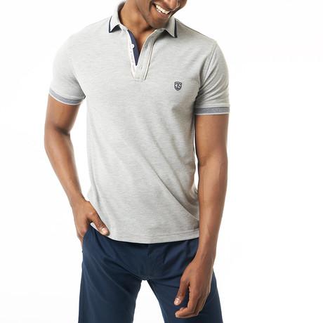 Rico Short-Sleeve Polo // Gray Melange (XS)