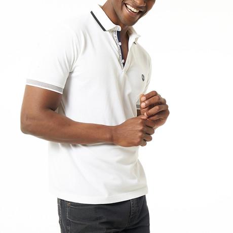 Rico Short-Sleeve Polo // White (XS)