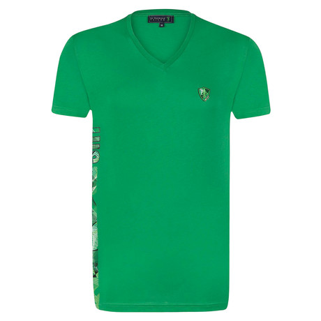 Chippen Shirt // Green (XS)