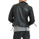 Ethan Leather Jacket // Black (2XL)