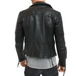 Ethan Leather Jacket // Black (S)