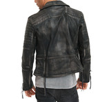 Bryan Leather Jacket // Black (S)