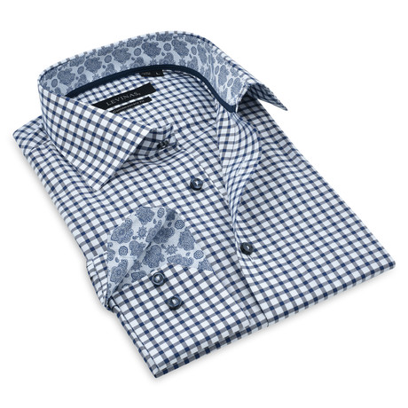 Button-Up Shirt I // Navy (S)