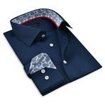 Button-Up Shirt III // Navy (3XL)
