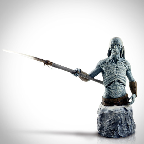 Game Of Thrones White Walker // Gentle Giant // Numbered Bust Statue