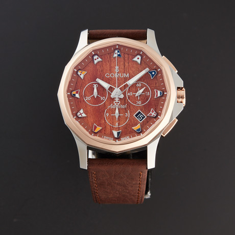 Corum Admiral's Cup Legend Chronograph Automatic // 984.101.24/0F62 AW12 // New