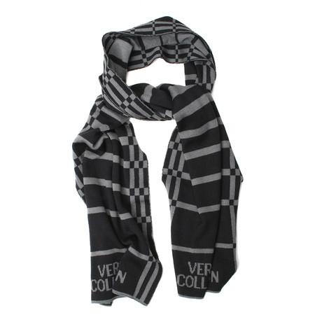 Versace // Unisex Scarf V2 // Black + Gray