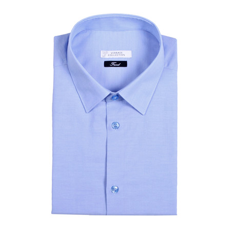 Dress Shirt // Bright Blue (US: 38R)