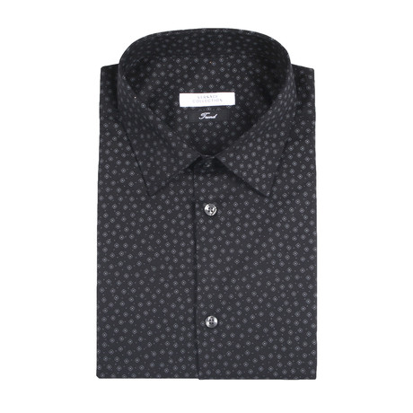 Dress Shirt // Black (US: 38R)