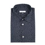 Dress Shirt // Navy + White (US: 42R)