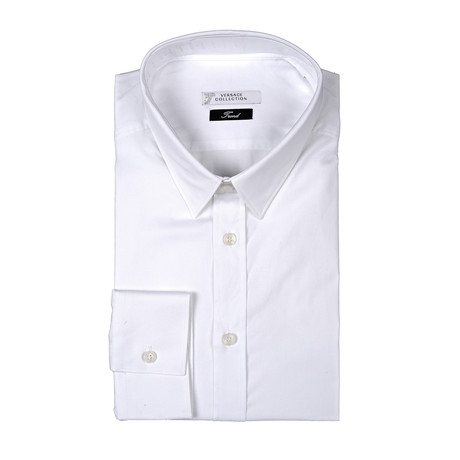Dress Shirt // White (US: 39)