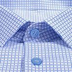Dress Shirt // White + Light Blue (US: 43R)