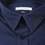 Dress Shirt // Navy (US: 39R)