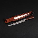 Damascus Fillet Knife // 9068