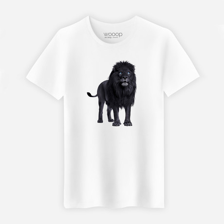 Lion T-Shirt // White (XXL)