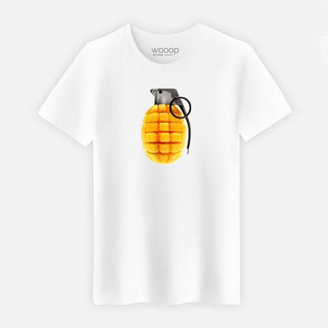 Mango Explosion T-Shirt // White (XL)
