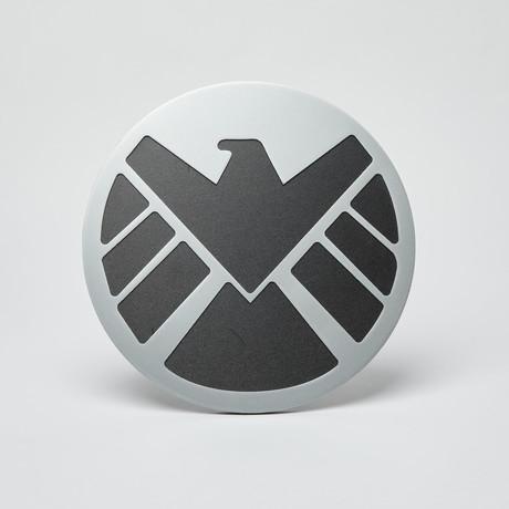 S.H.I.E.L.D Wall Emblem // Black