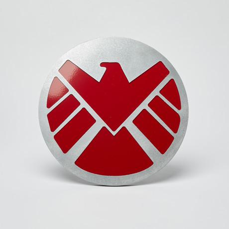 S.H.I.E.L.D Wall Emblem // Red