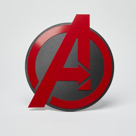 Avengers Wall Emblem // Red