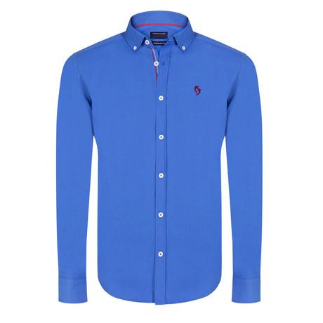 Hudson Shirt // Sax (XS)