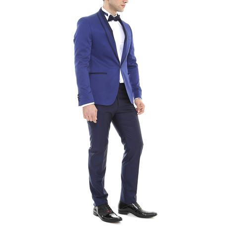 Geoff 2-Piece Slim Fit Suit // Blue (Euro: 44)