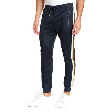 Side-Stripe Pants // Navy Blue (S)