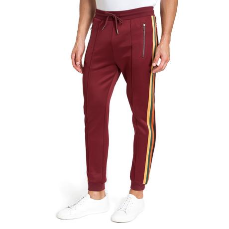 Side-Stripe Pants // Burgundy (S)