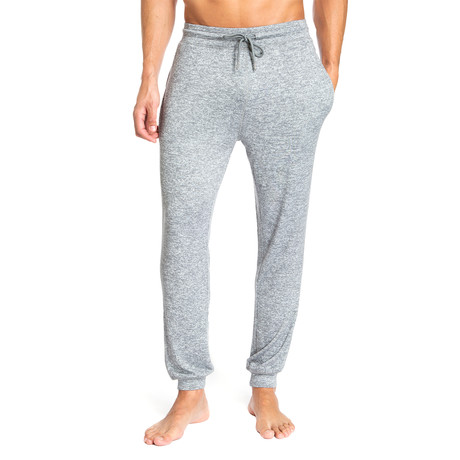 Super Soft Heather Lounge Pants // Light Gray (S)