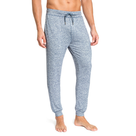 Super Soft Heather Lounge Pants // Light Blue (S)