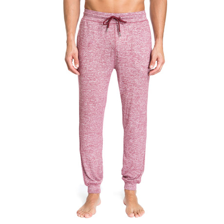 Super Soft Heather Lounge Pants // Burgundy (S)