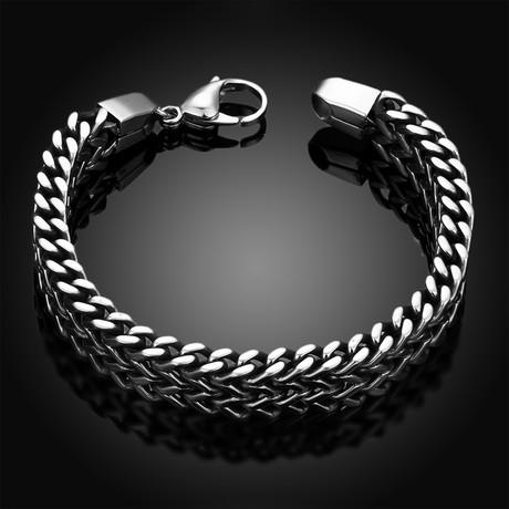Double Grapevine Chain Bracelet