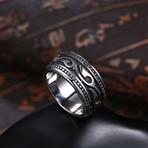 Laser Cut Inscribed Ring (8)