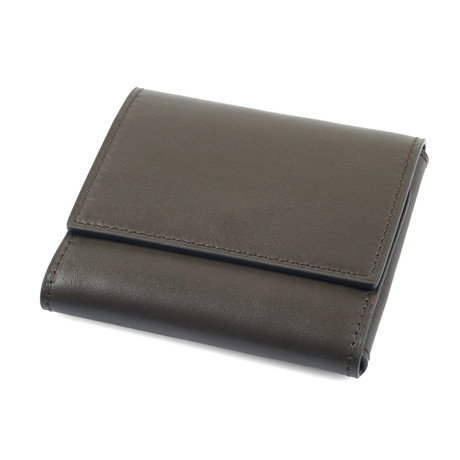 Tri-Fold Card Holder // Green